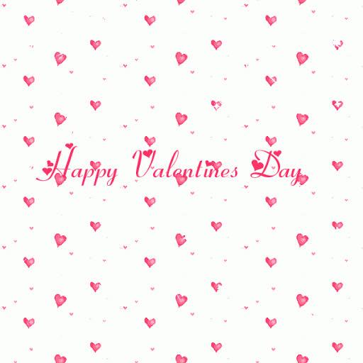 Happy Valentine Day Heart Glitter Graphic GIFs