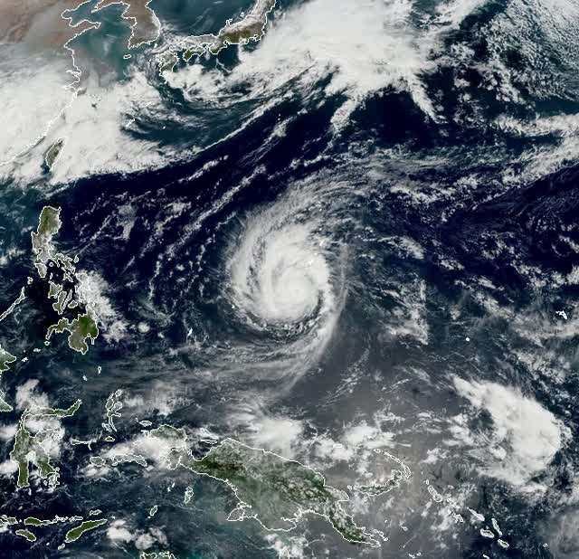 Watch and share Typhoon Wutip February 23, 2019 GIFs by The Watchers on Gfycat