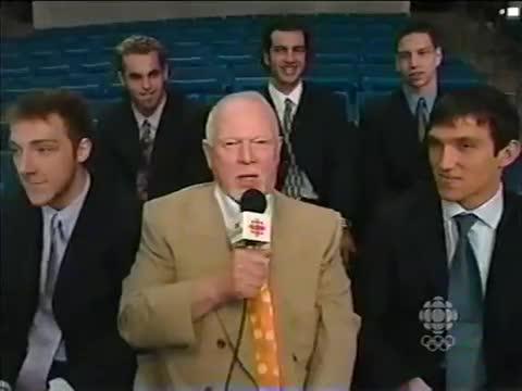 2004 Coach's Corner Alex Ovechkin GIFs