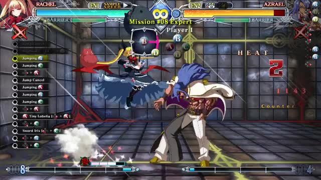 Watch and share BBCF: Rachel Expert 8 GIFs by snuffychris605 on Gfycat