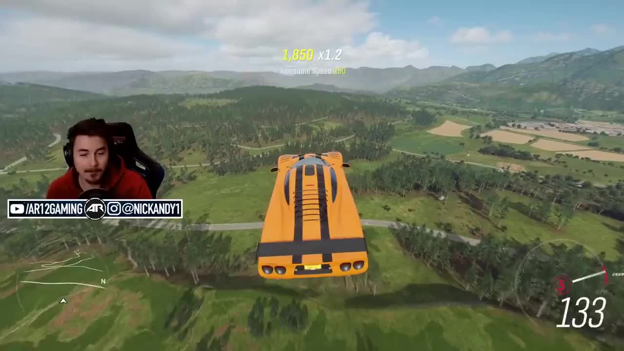 ar12, ar12gaming, fh4, forza, Forza Horizon 4 Online : The 10 Second Jump... GIFs