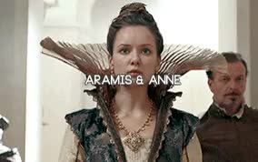 Watch Power couples GIF on Gfycat. Discover more annamis, aramis, athos, constagnan, constance, d'artagnan, flea, milady, milathos, musketeersedit, porthos, queen anne, the musketeers, type: gif GIFs on Gfycat