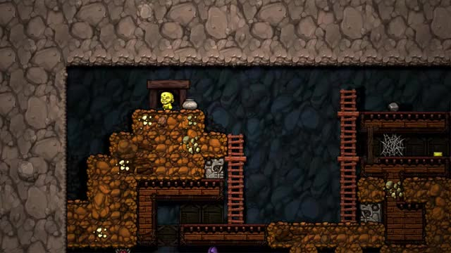 Watch and share Spelunky Well Planned Whip GIFs by krille71 on Gfycat