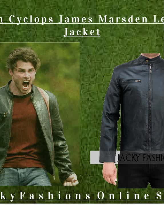 Watch and share X-Men Cyclops James Marsden Leather Jacket GIFs on Gfycat