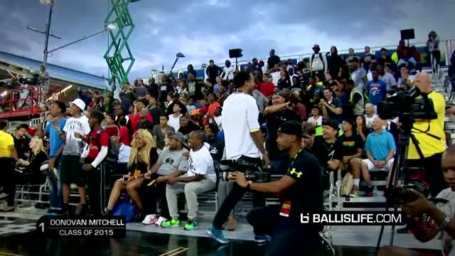 Watch and share Donovan Mitchell SHUTS DOWN Brooklyn! Under Armour Elite 24 Top 10 Plays (reddit) GIFs by kmarko on Gfycat
