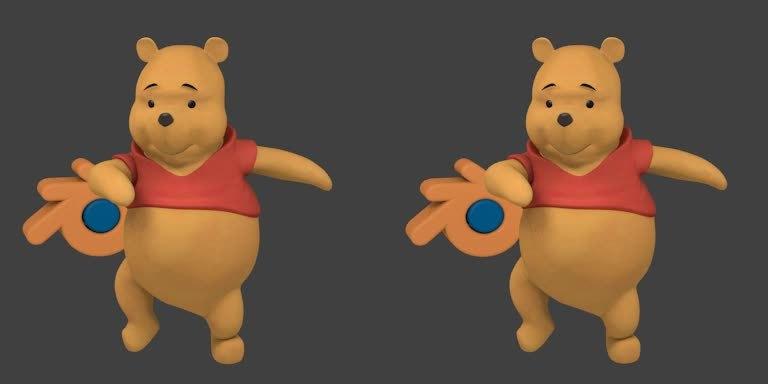 crossview, Zumba Pooh (Crossview) GIFs
