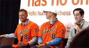 Watch and share Hunter Pence GIFs and Tim Lincecum GIFs on Gfycat