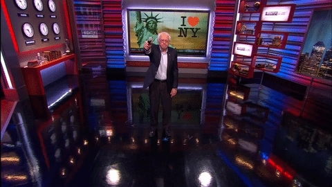 Bernie Savage! Mic Drop. GIFs