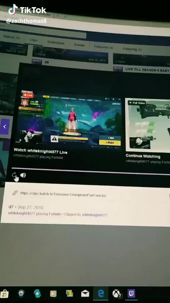 Watch twitch.tv/whiteknight4577 #fottnite #twitch #GFUEL #FortniteBR #Season6 #FallSkirmish #lipsync GIF by TikTok (@lovexixi) on Gfycat. Discover more FortniteBR, GFUEL, fottnite, twitch GIFs on Gfycat