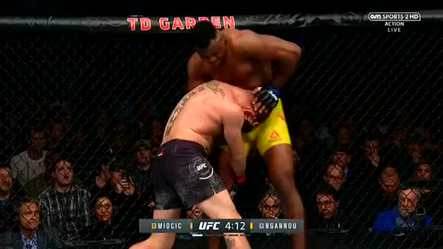 Watch Miocic Ngannou GIF on Gfycat. Discover more related GIFs on Gfycat