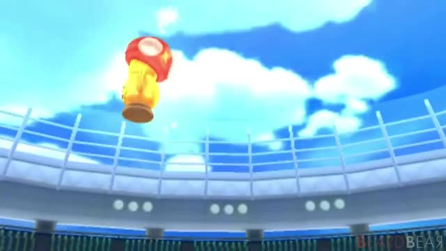 Watch and share Mario Sports Superstars - All Trophy Celebrations GIFs by pichisetta on Gfycat