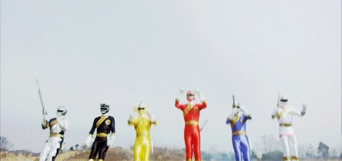 Power rangers GIFs