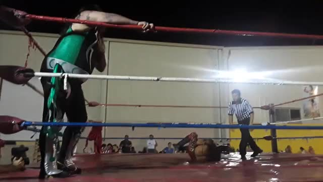 Watch Ricardo vs Laredo Kid GIF by Blaze Inferno (@metaknightxprophets) on Gfycat. Discover more Laredo Kid, Ricardo Rodriguez, SquaredCircle, wrestling GIFs on Gfycat