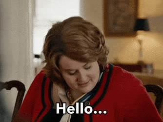adele, aidy bryant, greetings, hello, hey, parody, snl, Hello - SNL A Thanksgiving Miracle GIFs