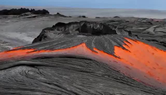 Watch River molten lava | Hawaii island gif | ytgifs GIF on Gfycat. Discover more River molten lava | Hawaii island gif | ytgifs 8lo8 Kilauea GIFs on Gfycat