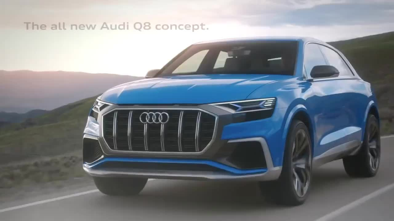 Audi Q8 concept GIFs