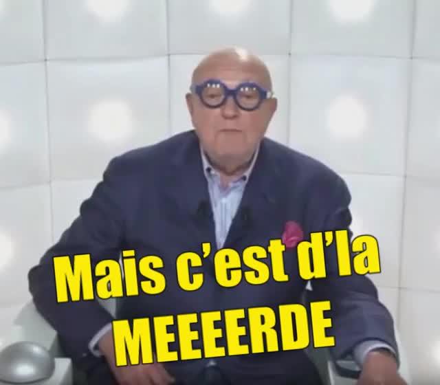 Watch and share Jean-Pierre Coffe Mais C'est D'la MEEEERDE GIFs by na12345 on Gfycat