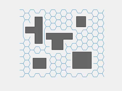 Watch and share Rectilinear Environment Hexagonal Graph GIFs by sebiic on Gfycat