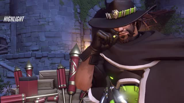 Watch Mccree GIF on Gfycat. Discover more highlight, mccree, overwatch GIFs on Gfycat