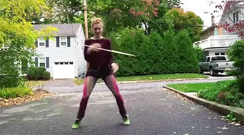Watch and share Hoola Hoop Girl With Quick Moves (reddit) GIFs on Gfycat