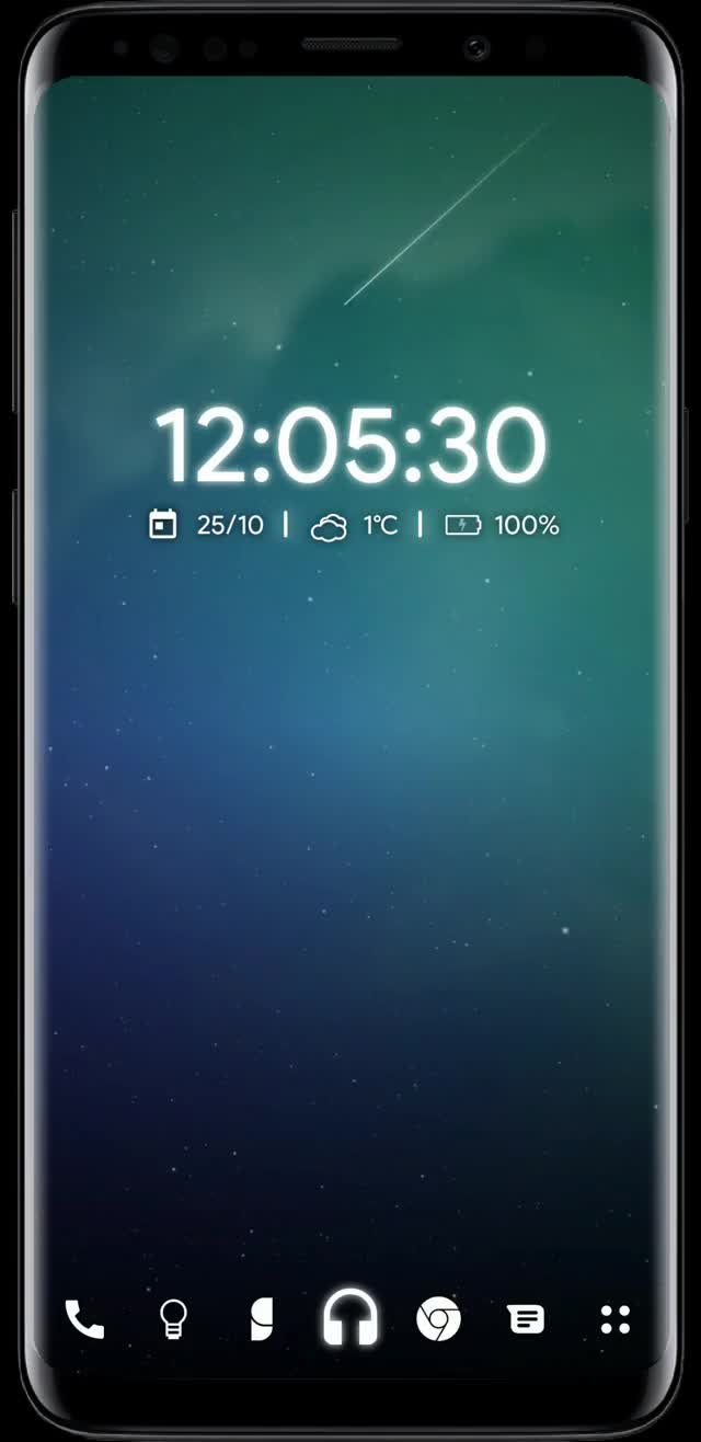 Watch and share Hyperdrive For KLWP October Update GIFs on Gfycat