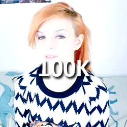 Watch Congratulations on the 500,000 subscribers Emma!!! GIF on Gfycat. Discover more 1k, Emma Blackery, EmmaBlackery, Main Channel, Others GIFs on Gfycat
