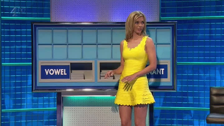 Rachel Riley - Short Dress 8 Out Of 10 Cats Does Countdown 23Jun2015 [HD] GIFs