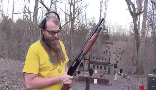 Watch and share Mossberg 500 GIFs on Gfycat