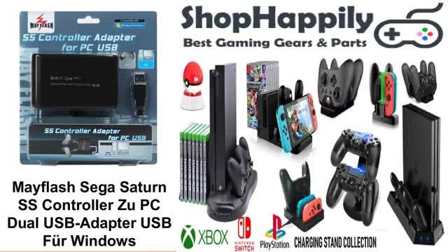 Watch and share Mayflash Sega Saturn SS Controller Zu PC Dual USB-Adapter USB Für Windows GIFs by shophappily on Gfycat