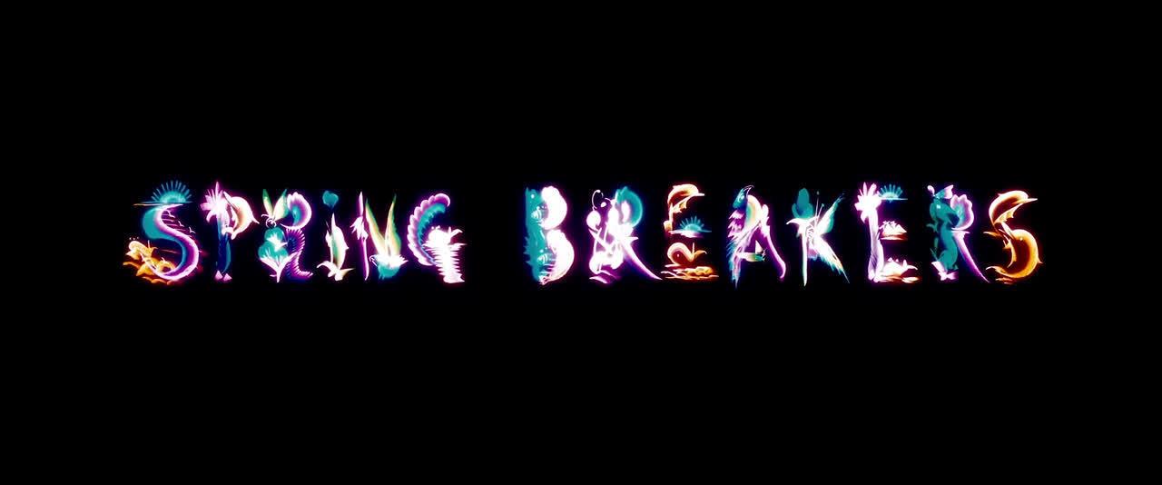 Spring Breakers Logo 2 GIFs