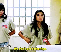 Watch and share Orange Is The New Black GIFs and Diane Guerrero GIFs on Gfycat