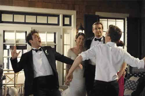 Watch this high five GIF on Gfycat. Discover more alyson denisof, alyson hannigan, barney stinson, barney x lily, barney x marshall, barney x robin, barney x ted, cobie smulders, himym, how i met your mother, jason segel, josh radnor, lily aldrin, marshall eriksen, marshall x lily, marshall x ted, neil patrick harris, nph, robin scherbatsky, robin sparkles, robin x lily, schmosby, swarkles, swarley, ted mosby, ted x lily, ted x robin GIFs on Gfycat