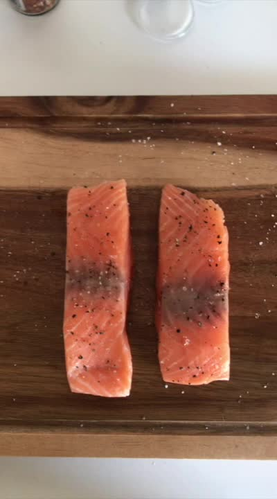 Watch and share Creamy Blue Cheese Salmon GIFs by Kitchenful on Gfycat