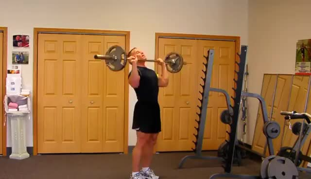 Watch barbell shoulder press GIF on Gfycat. Discover more barbell shoulder press GIFs on Gfycat