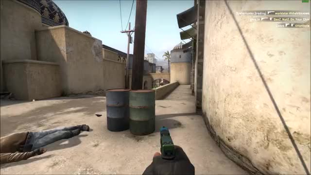 Watch and share CS:GO - Gameplay - T Side Pistol 4k GIFs on Gfycat