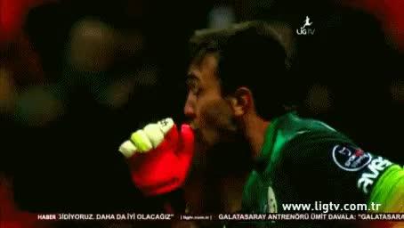 Watch and share Fernando Muslera GIFs and Galatasaray GIFs on Gfycat