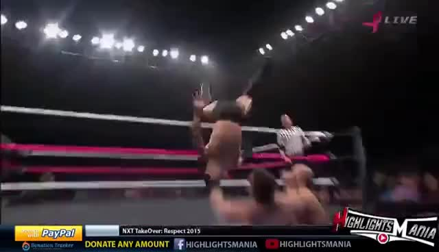 Watch and share Apollo Crews - Shoulder Tackle GIFs on Gfycat