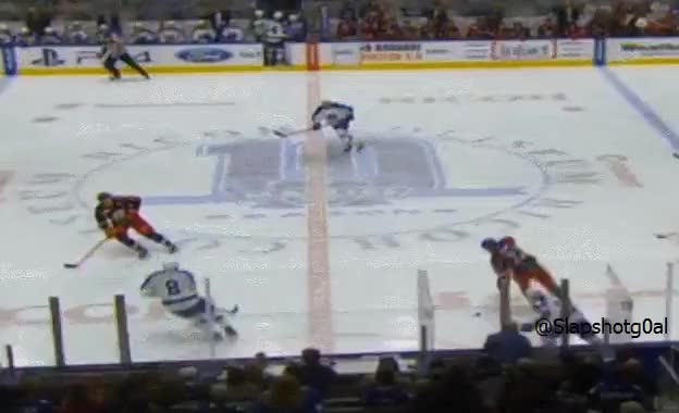 Watch and share Viktor Loov Blindsided Hit To The Head On Zach Nastasiuk GIFs by slapshotgoal on Gfycat