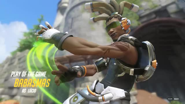 Watch and share Overwatch GIFs and Lucio GIFs by Babasmas on Gfycat
