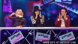 Watch Noel Fielding Dance GIF on Gfycat. Discover more related GIFs on Gfycat