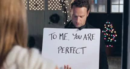 Watch and share Love Actually GIFs and Perfect GIFs on Gfycat