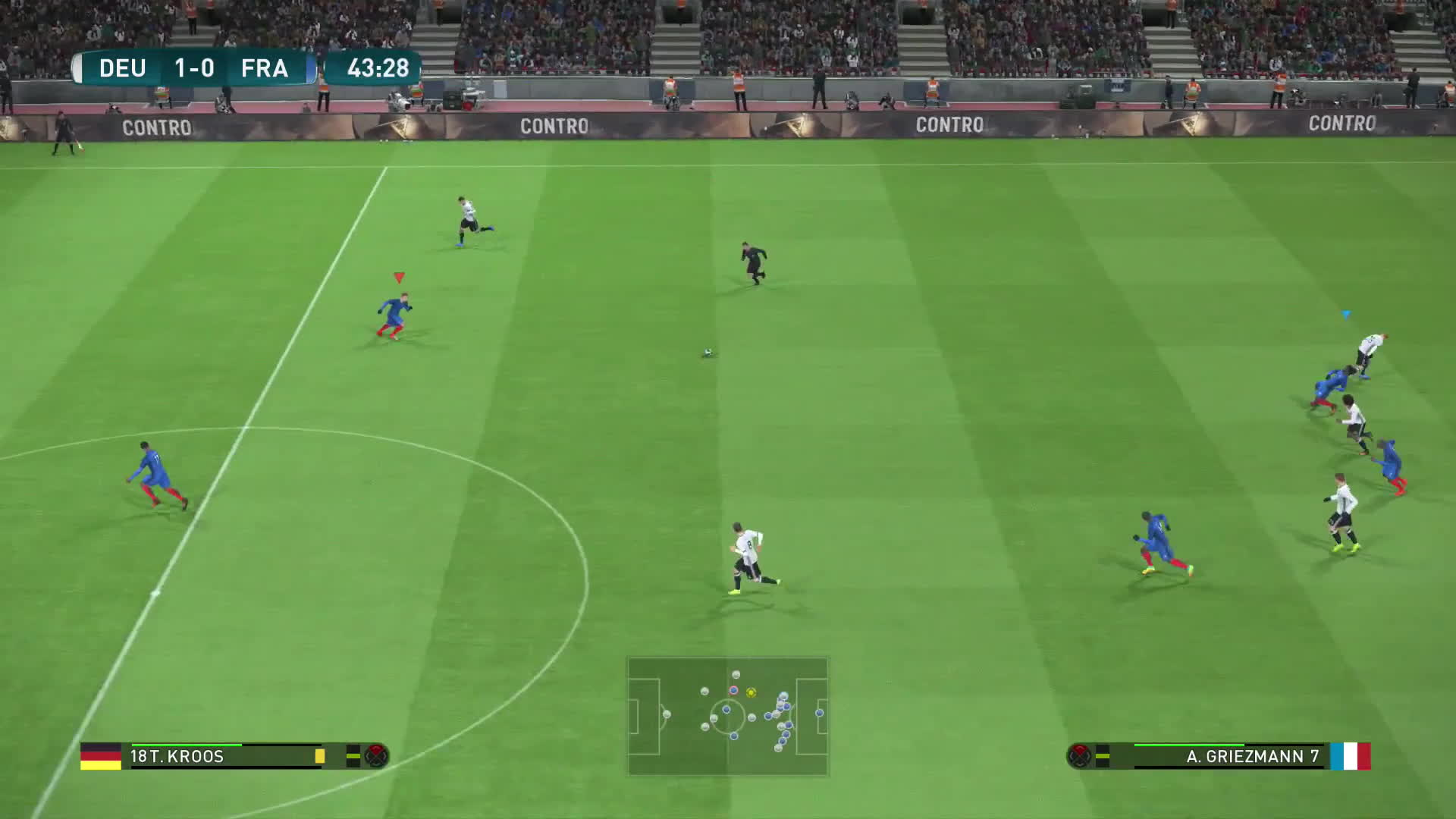 gaming, videogames, wepes, PES 2017 Gameplay - Germany vs France GIFs