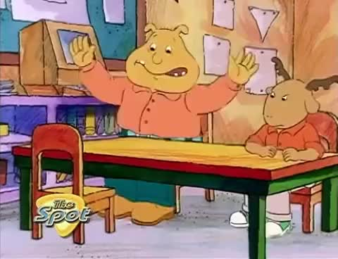 Watch and share Arthur (Locked In The Library!)( Arthur Accused!) GIFs on Gfycat