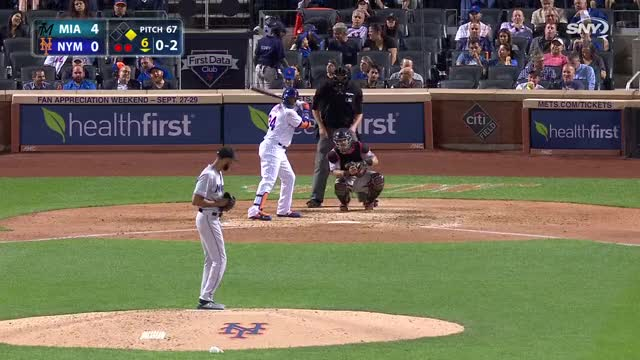 Watch and share Miami Marlins GIFs and New York Mets GIFs by r_amore on Gfycat