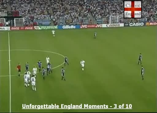 Watch and share Beckham Red Card V Argentina 1998 GIFs on Gfycat