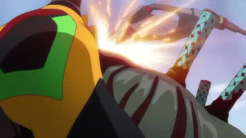 Watch and share Eva Unit 02 GIFs and Beast Mode GIFs on Gfycat