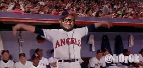 Watch LelBrons in the Outfield GIF on Gfycat. Discover more related GIFs on Gfycat