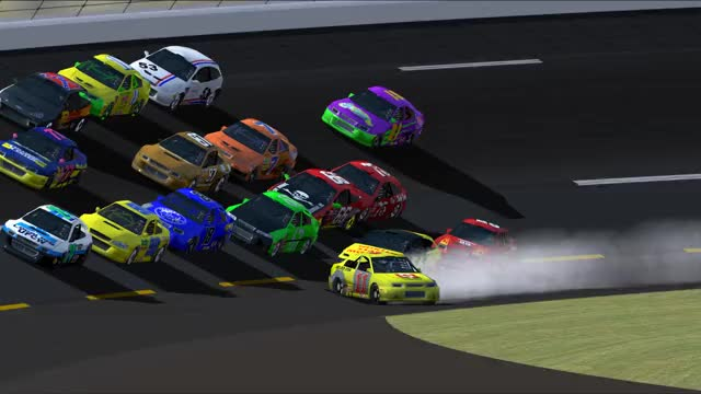 Watch and share NASCAR Racing 2003 Season 2019.04.05 - 23.46.36.02 GIFs by hoangkong on Gfycat