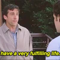 Watch and share Steve Carell - Fulfilling Life GIFs on Gfycat