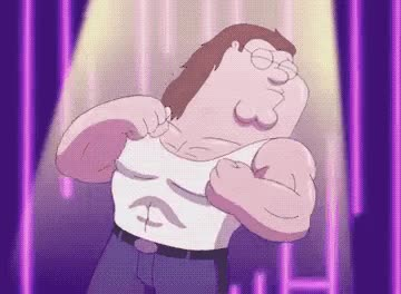 Watch this family guy GIF by GIF Queen (@ioanna) on Gfycat. Discover more bay, body, celebrate, dance, excited, family, family guy, fit, guy, michael, out, party, peter, work GIFs on Gfycat